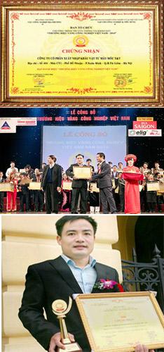 giải thưởng thương hiệu vàng băng tải