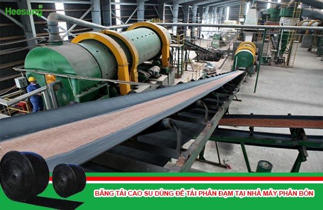Hệ thống dây chuyền sản xuất phân bón tại nhà máy