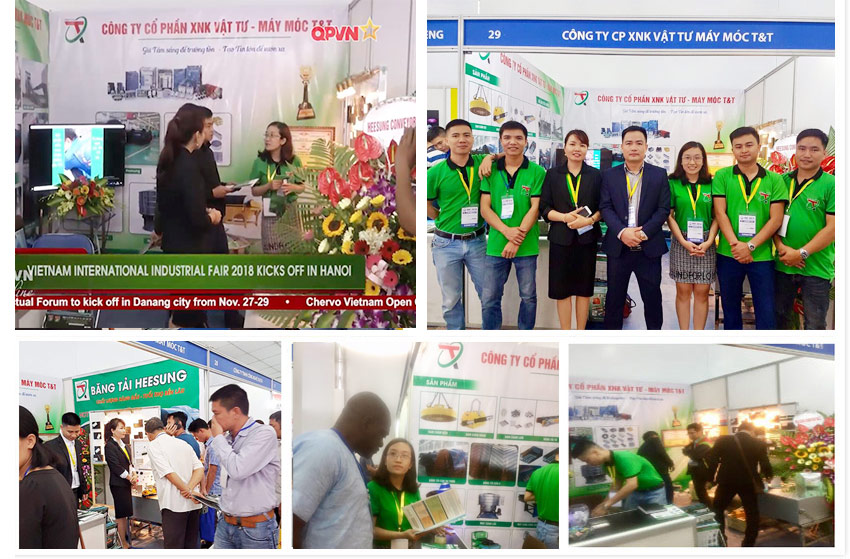 Quý khách có thể xem thêm nhiều hình ảnh Hội Chợ Quốc Tế Công Nghiệp Việt Nam lần thứ 27